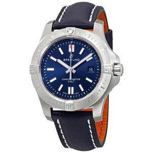Breitling Chronomat Colt Automatic Chronometer Blue Dial