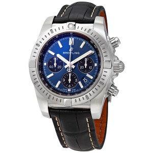 Breitling Chronomat Chronograph Automatic Chronometer Blue Dial