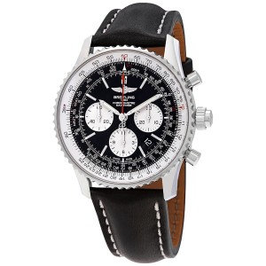 Breitling Navitimer Rattrapante Chronograph Automatic Black Dial