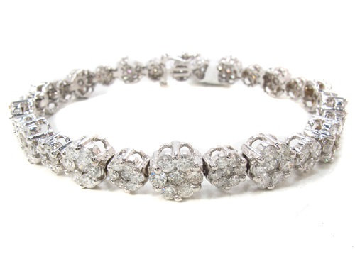 Prong Diamond Bracelet 8.00ct