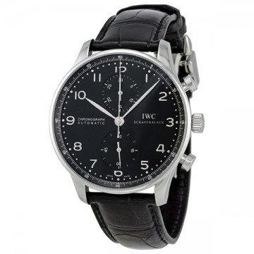 IWC Portuguese Automatic Chronograph Black Dial