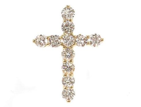 Cougar Cross Crucifix