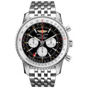 Breitling Navitimer 1 Chronograph Automatic Chronometer Black Dial