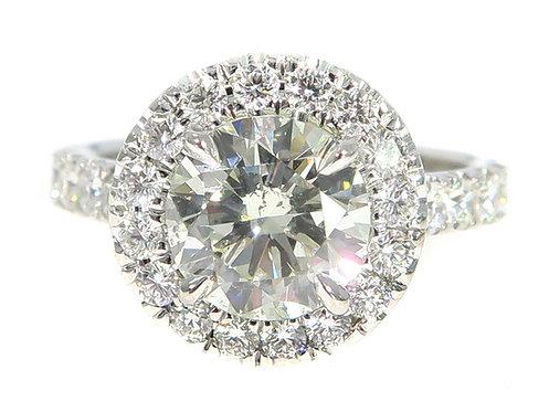 Prong Diamond Engagement Ring Set