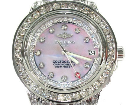 Breitling Colt Ocean Mother of Pearl Watch 9.50ct