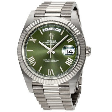 Rolex Day-Date Automatic 18 Carat White Gold President