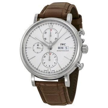 IWC Portofino Automatic Chronograph Silver Dial