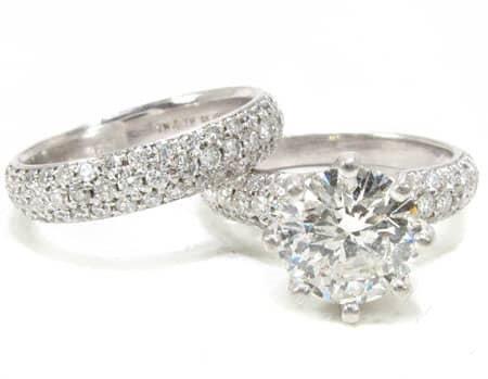 Lux Platinum Engagement Set