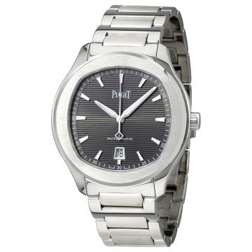 Piaget Polo S Automatic Grey Guilloche Dial