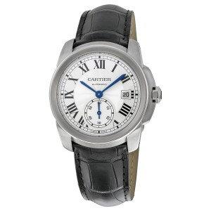Cartier Calibre de Silver Dial Men