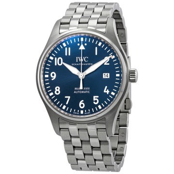 "IWC Mark XVIII Edition ""Le Petit Prince"" Blue Dial Automatic Men"