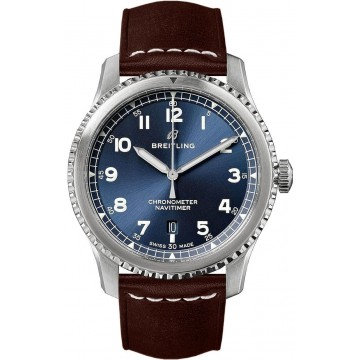 Breitling Navtimer 8automatic chronometer blue dial
