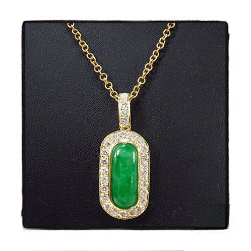 Green Jade Diamond 1.35ct