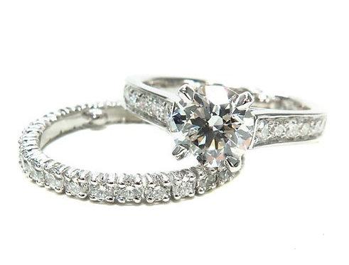 Prong Diamond Engagement Ring