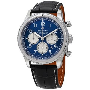 Breitling Navitimer 8 Chronograph Automatic Chronometer Blue Dial