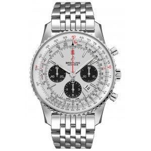 Breitling Navitimer 1 Chronograph Automatic Chronometer Silver Dial