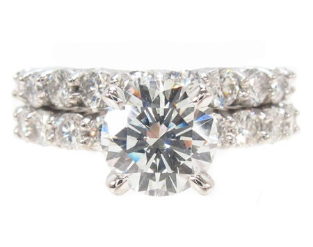 Prong Diamond Ring