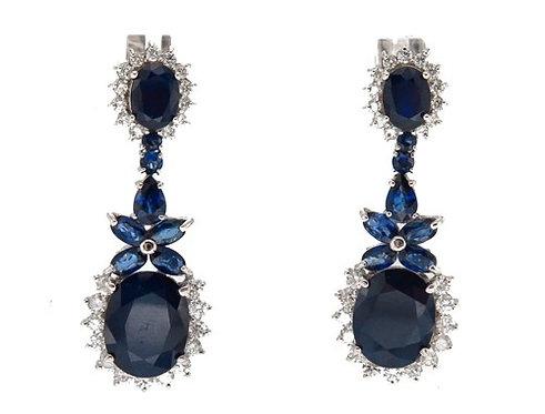 Prong Diamond Sapphire