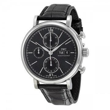 IWC Portofino Automatic Chronograph Black Dial