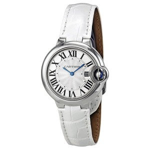 Cartier Ballon Bleu Silver Dial Ladies