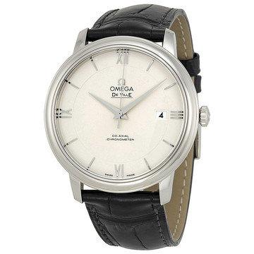 Omega De Ville Prestige Automatic Silver Dial Men