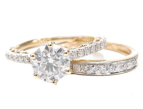 Prong Diamond Engagement Ring
