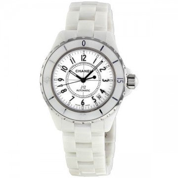 CHANEL J12 White Automatic White Dial White Ceramic