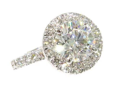 1.00 ct VS2-SI1 Diamond Ring