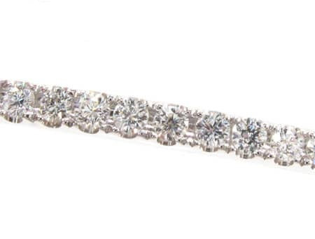 Single Row Bangle 3.60ct