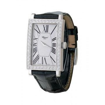 CHOPARD Classique White Dial Black Leather Ladies