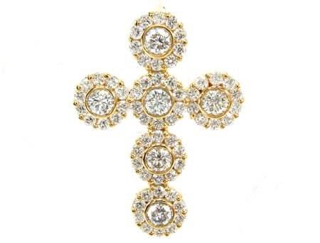 Diamond Cross Crucifix