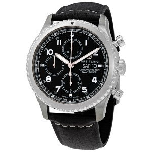 Breitling Navitimer 8 Chronograph Automatic Chronometer Black Dial