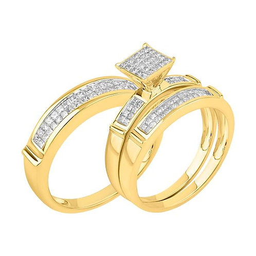 14K Solid Gold 1.35ctw