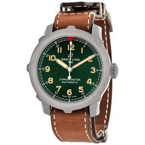 Breitling Navitimer Super 8 B20 Automatic Chronometer Green Dial