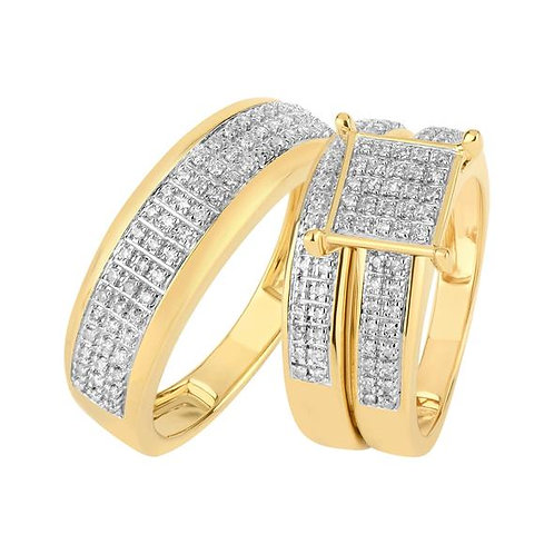 14K Solid Gold 0.62ctw