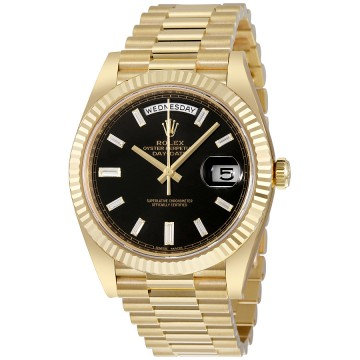 Rolex Oyster Perpetual 18K Yellow Gold Diamond