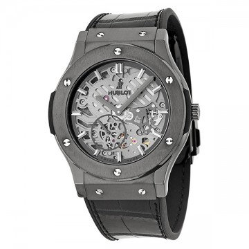Hublot Classic Fusion Hand Wind Skeleton Dial Men