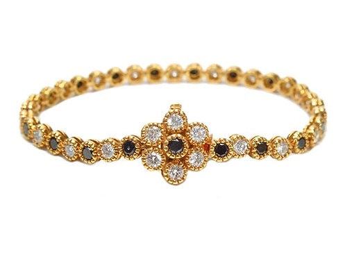Bezel Diamond Bracelet 5.45ct