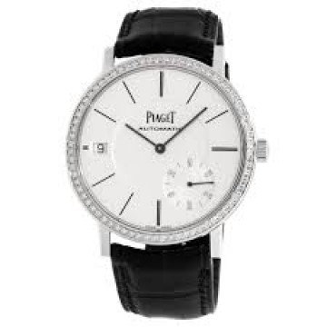 Piaget Altiplano Silvered Dial 18K White Gold Diamond