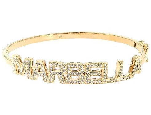 Custom Name Marbella Diamond
