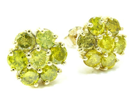 Cluster Earrings 2.30ct.