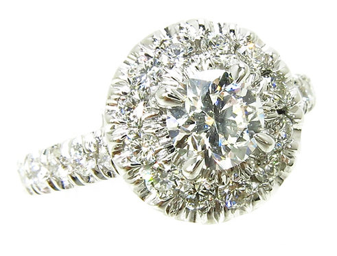 Prong Diamond Wedding Ring