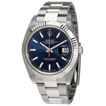 Rolex Oyster Perpetual Datejust 41 Blue Dial