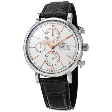 IWC Portofino Chronograph Automatic Silver Dial