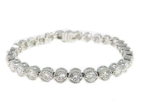 Bezel Diamond Bracelet