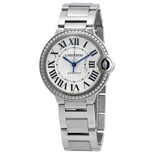 Cartier Ballon Bleu Automatic Ladies Diamond