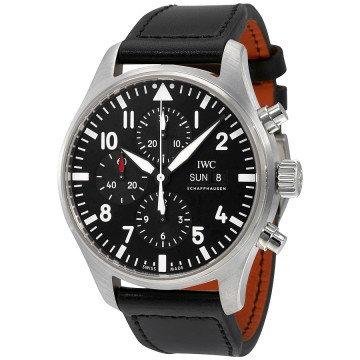 IWC IWC Pilot Black Automatic Chronograph