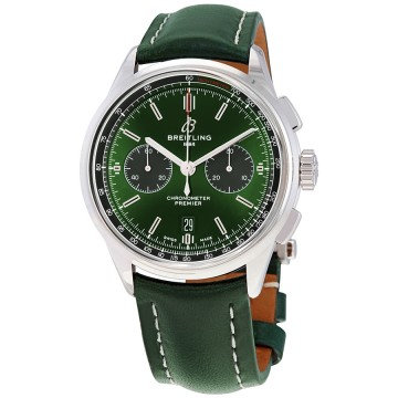 Breitling Premier Bentley Chronograph Automatic Chronometer Green Dial