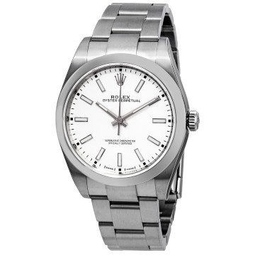 Rolex Oyster Perpetual Automatic White Dial