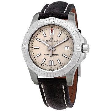Breitling Chronomat Colt Automatic Chronometer Silver Dial